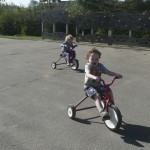Developing pedalling skills